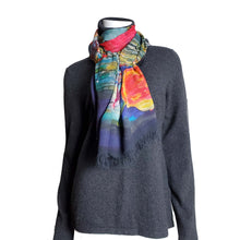 Load image into Gallery viewer, Multi Coloured Sparrow Scarf