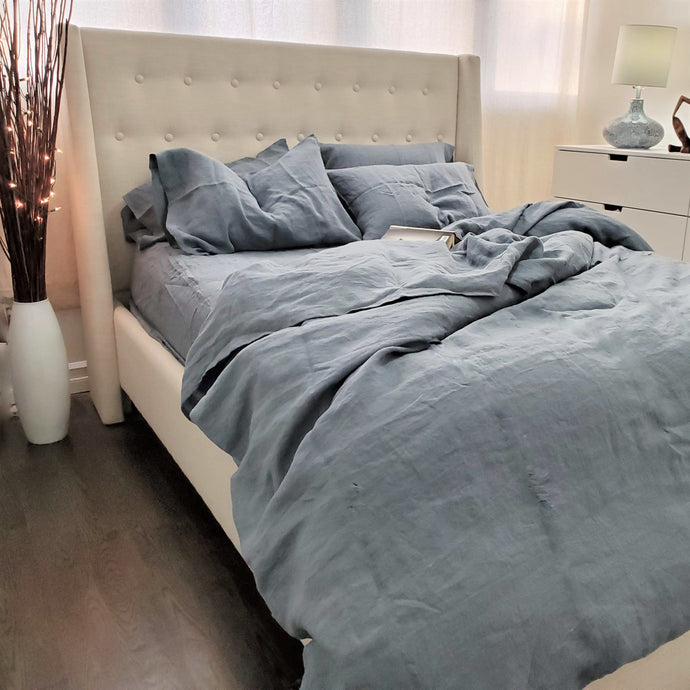 King Duvet Set Blue/Grey (3 pieces) Save 25$