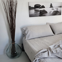 Load image into Gallery viewer, Queen Flat Sheet Light Grey