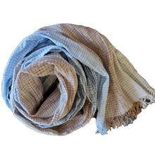 Load image into Gallery viewer, Striped Linen Scarf