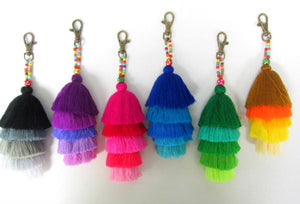 20pcs Ivy Tassel Ombre Keychain