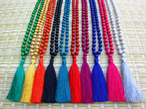 Festival Tassel Necklace
