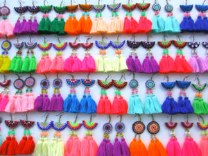20 Pair+ Maya Tassel Earrings