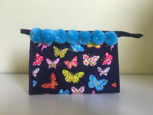 Butterflies Cosmetic Bags