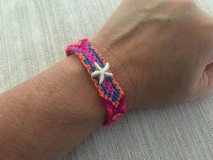 Starfish Braided Friendship Bracelet