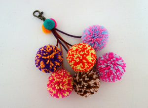 Alice Speckled Pompoms for bags