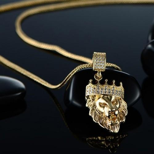 Father's Day! King of the Jungle Iced Out Pendant
