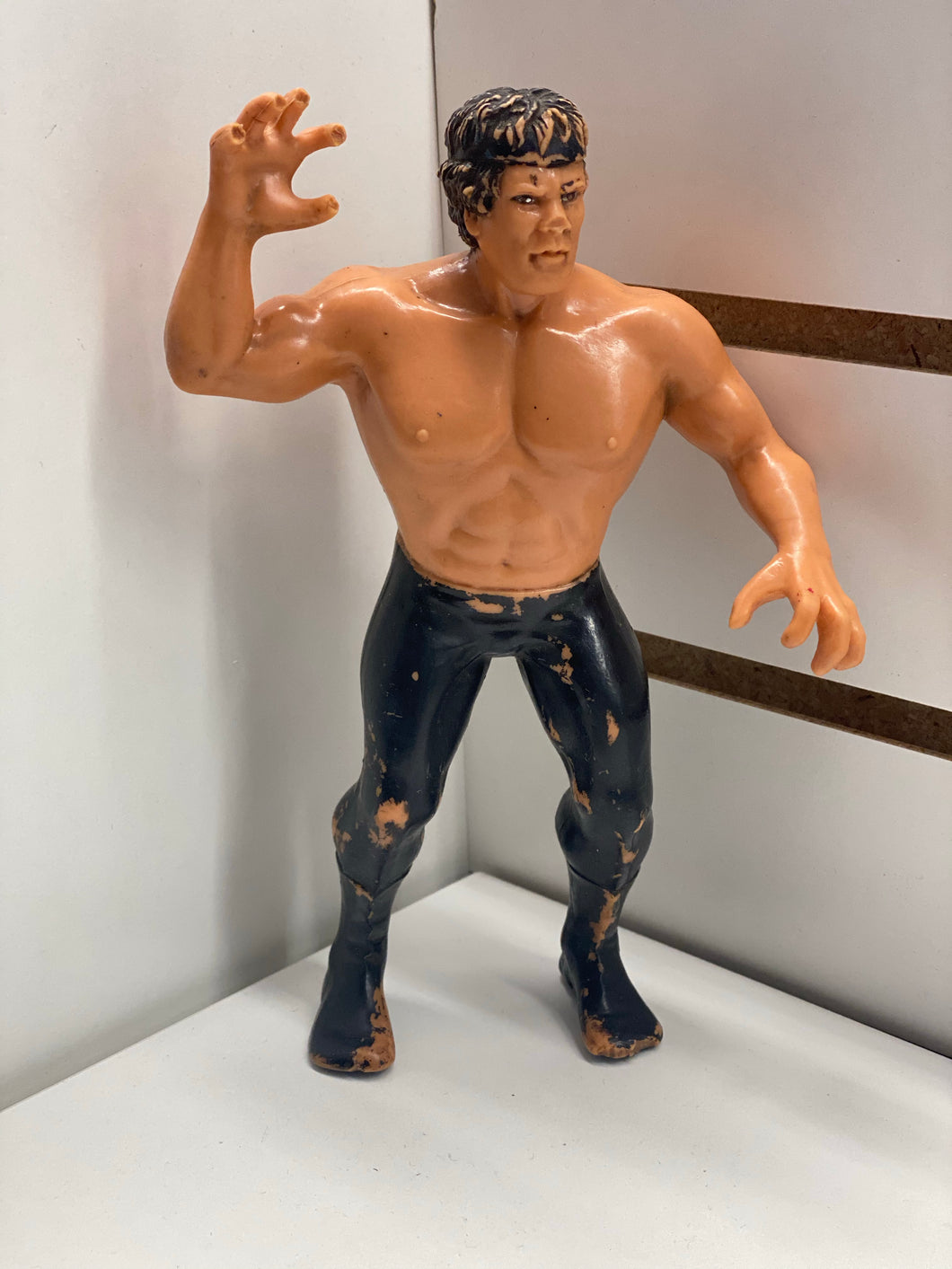 LJN Ricky The Dragon Steamboat Rubber Loose Figure