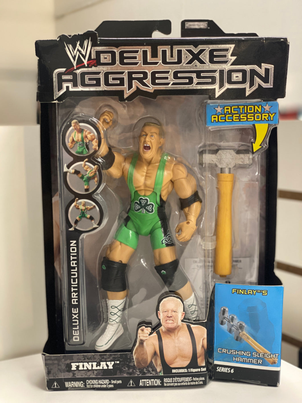 WWE  Deluxe Aggression Finlay