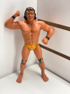 LJN Superfly Jimmy Snuka Rubber Loose Figure