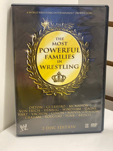 WWE The Most Powerful Families in Wrestling ( 2 Disc Set)