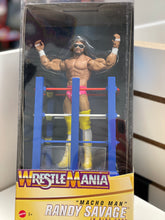 Load image into Gallery viewer, WWE Wrestlemania Macho Man Randy Savage in Ring Cart