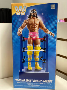 WWE Wrestlemania Macho Man Randy Savage in Ring Cart