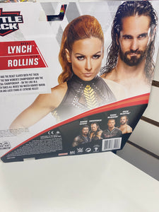 WWE Battle Pack Seth Rollins & Becky Lynch