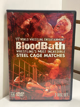 Load image into Gallery viewer, WWE Blood Bath Wrestling's Most Incredible Steel Cage Matches (2 disc set)