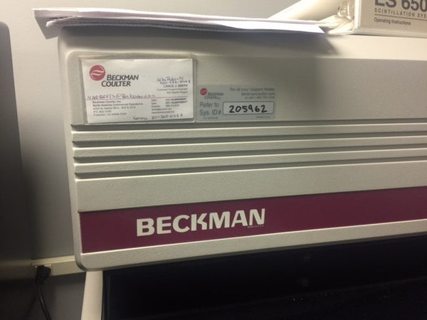 Beckman LS-6500 Liquid Scintillation Counter