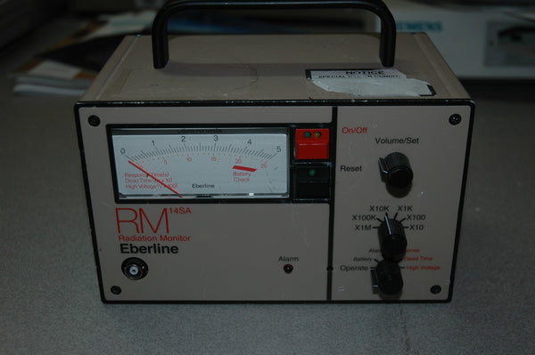 Eberline RM-14SA Count Rate Meter - USED