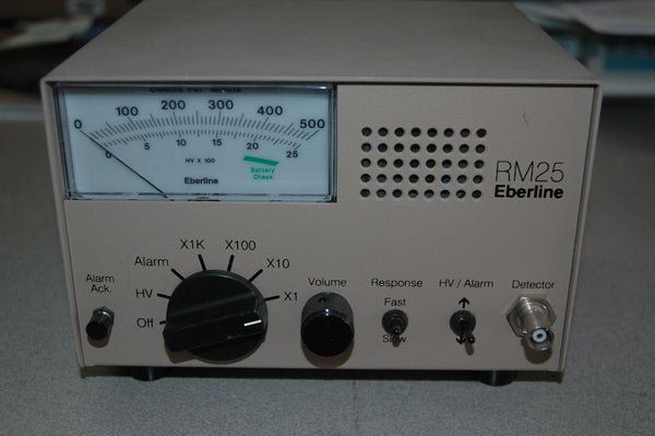 Eberline RM-25 Radiation Monitor - USED