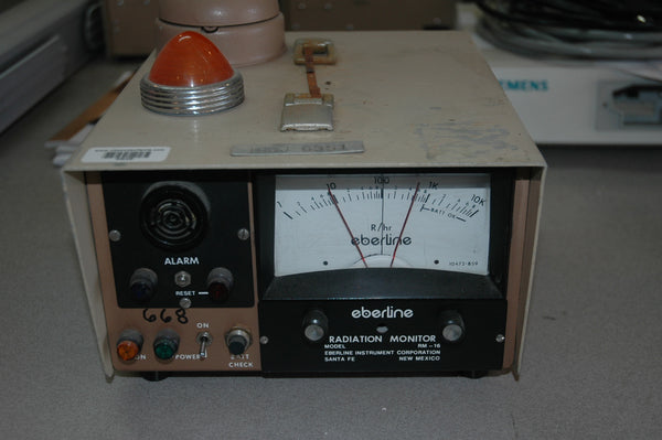 Eberline RM-16 Alarming Radiation Monitor - USED
