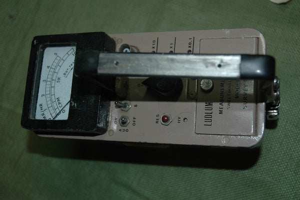 Ludlum Model 2 Count Rate Meter- Used