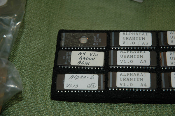 Alpha 6A Eprom for monitoring Radon A4 V1.0