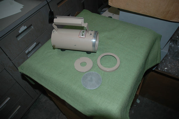 "Ludlum Model 180-14 Shield holder/collimator for 2"" NaI or similar probe"