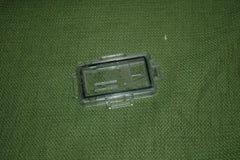 Used Polymar ISA Hanger for Panasonic UD-802 dosimeters.  Clear, Single Window, No clip