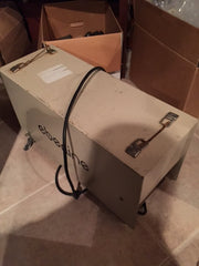 Portable Eberline RAS-1 Low Volume Air Sampler with Gast Pump, Case, Sample heads, etc