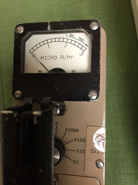 Ludlum Model 12S MicroR meter - Environmental Radiatiom Monitor