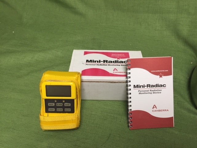 Canberra Personal Radiation Detector Mini Radiac With