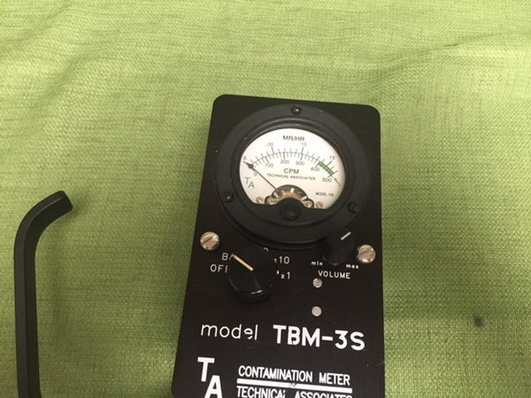 Technical Associates TBM-3S Radiation Detector
