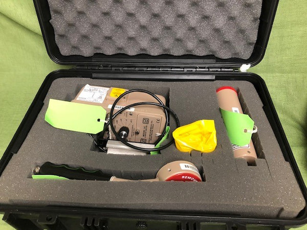 Ludlum Emergency Response Kit with Models 14C, 44-3, 44-9 in Pelican Case