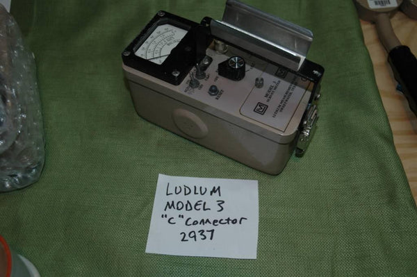 Ludlum Model 3 Count Rate Meter - USED