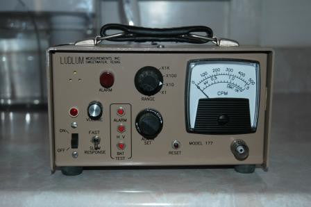 Ludlum Model 177 Alarm Ratemeter Chp Consultants