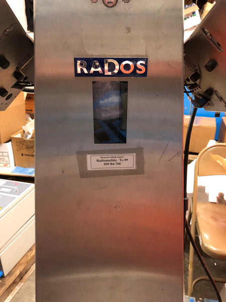 RADOS (Mirion) RTM-110 Hand and Foot Monitor with Beta Scintillator Detetors (RBP)