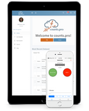 Counts.Pro turns your meter into a mobile lab that records, stores, and transmits your survey data.  Now you can email your measurements, or sync to a secure cloud server.