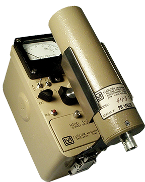 Ludlum Model 3-98 I-125 Survey meter.  Can pair with Model 44-3 (not included).