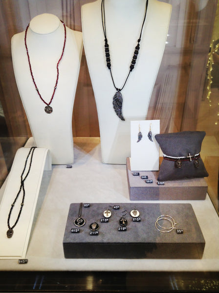 Karon Jacobson Jewellery on display in Brown Thomas
