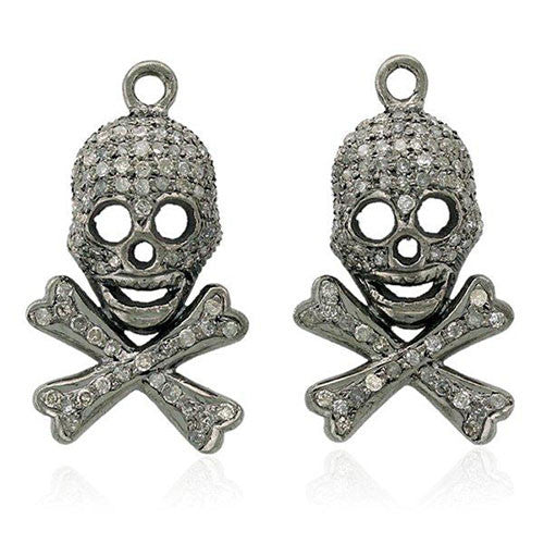 Diamond Earring Charms by Karon Jacobson Jewellery