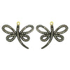 Diamond Butterfly Earring Charms