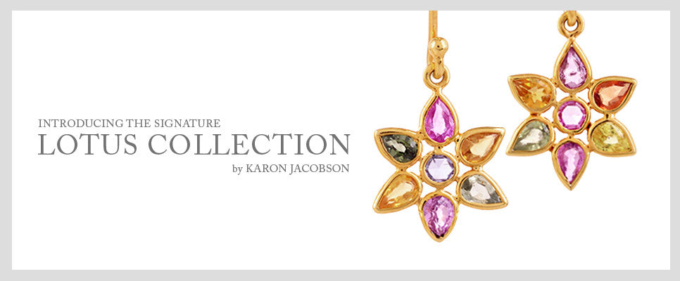Karon Jacobson Jewellery introducing the Lotus Collection