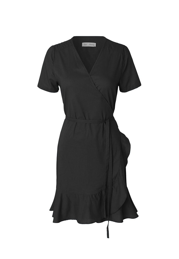 Alma Dress Natural Black