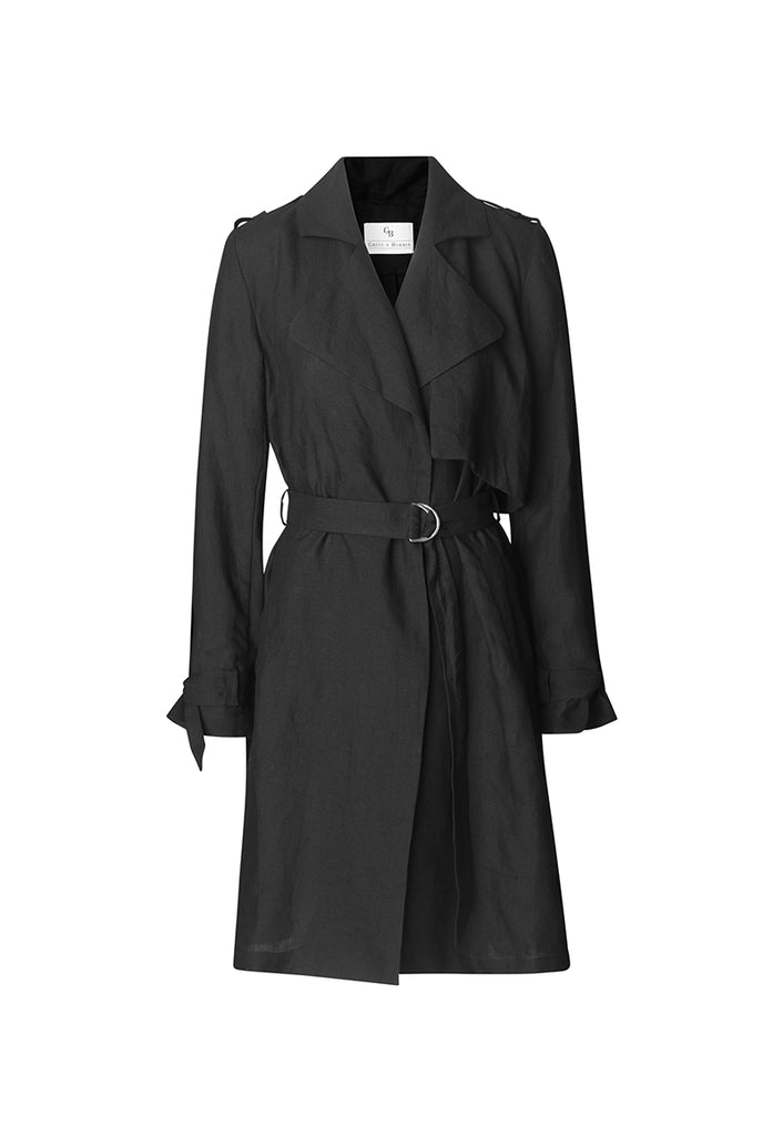 Freja Coat Black