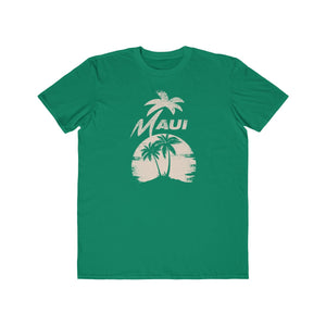 MAUI Unisex Lightweight Fashion Tee- Smoke