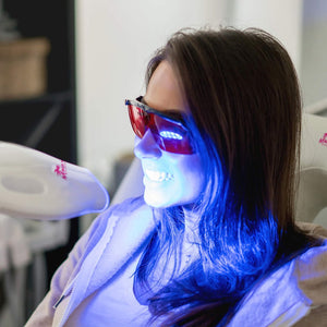 Pre-Purchase / 40 Minute Laser Teeth Whitening - In Person Session