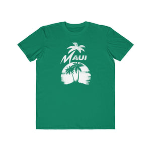 MAUI Unisex Lightweight Fashion Tee- Green