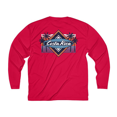 Men's Long Sleeve Costa Rica Tee
