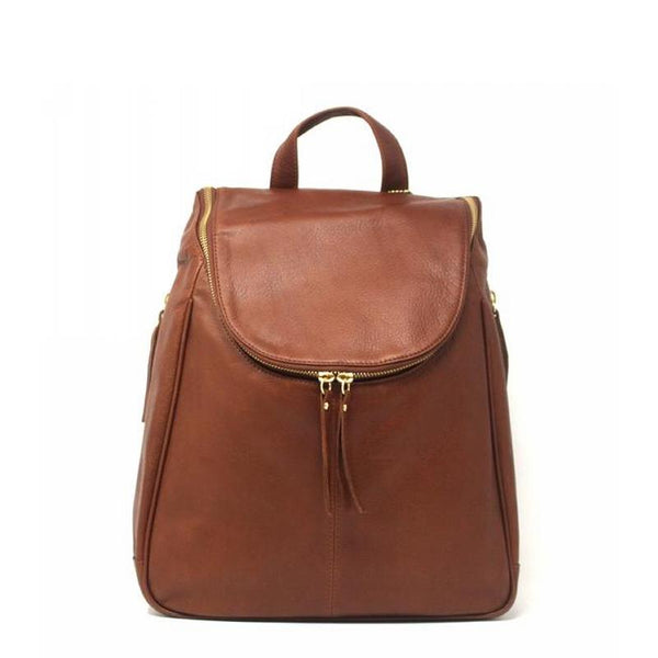 Nora Leather Backpack 12""