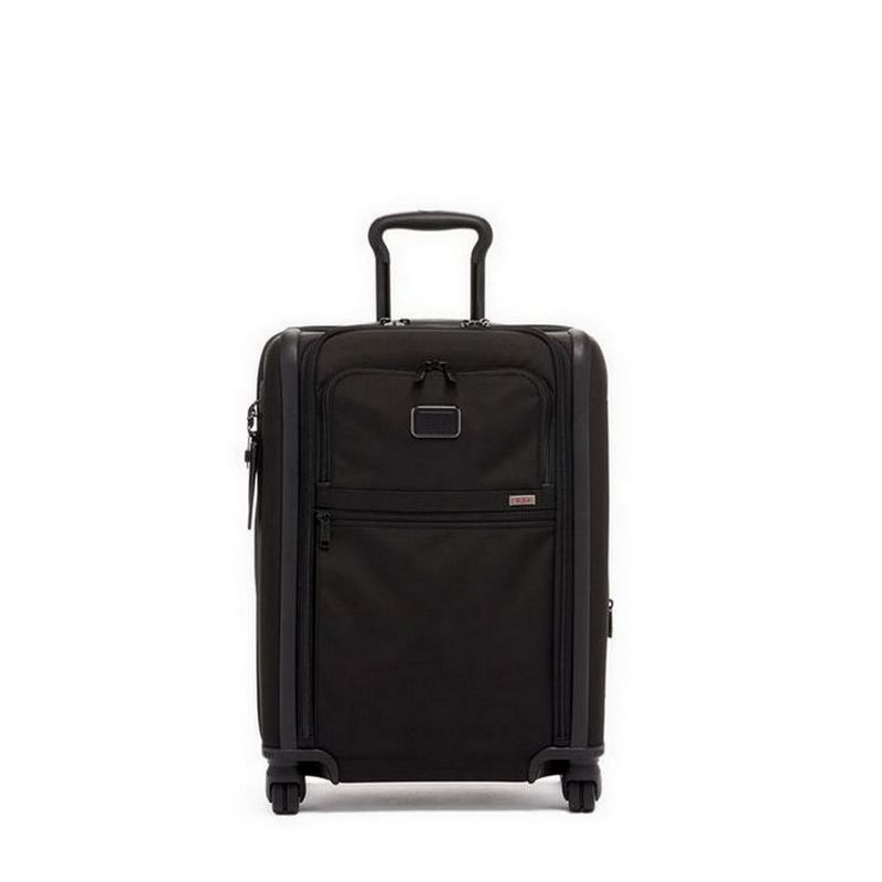 Alpha 3 Continental Dual Access 4 Wheeled Carry-On // Black