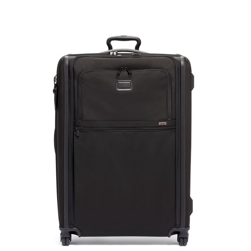 Alpha 3 Extended Trip Expandable 4 Wheeled Packing Case // Black